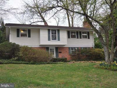 Potomac Single Family Home Active Under Contract: 11824 Kim Place