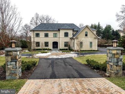 Bethesda MD Single Family Home For Sale: $3,700,000