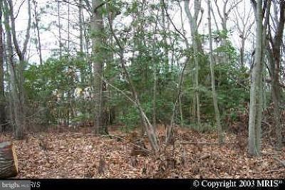 calvert County Residential Lots & Land For Sale: 12432 Algonquin Trail