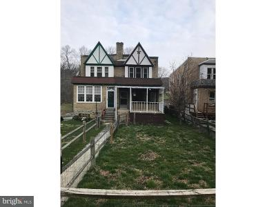 Coatesville PA Single Family Home For Sale: $118,900