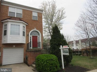 Gaithersburg Townhouse For Sale: 18506 Carriage Walk Circle