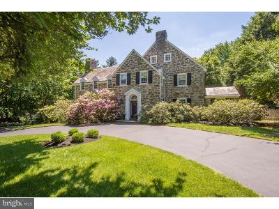 Bryn Mawr Single Family Home For Sale: 241 Curwen Road