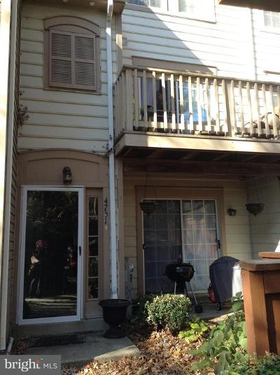 Bowie Rental For Rent: 4751 River Valley Way #62