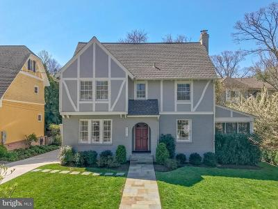 Chevy Chase Single Family Home For Sale: 4006 Underwood Street