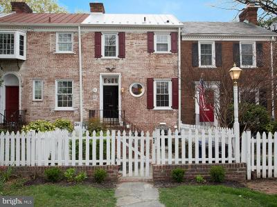 Alexandria City Townhouse For Sale: 503 Franklin Street
