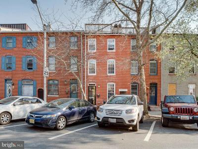 Fells Point Single Family Home For Sale: 2009 Bank Street