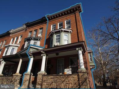 Baltimore Townhouse For Sale: 3101 N Calvert Street