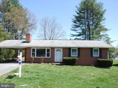 Carroll County Single Family Home For Sale: 6611 Marvin Avenue