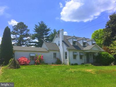 Culpeper Single Family Home For Sale: 721 Sperryville Pike