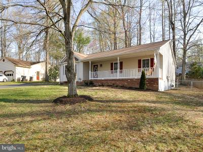 Spotsylvania Single Family Home For Sale: 11009 Cedar Post Lane