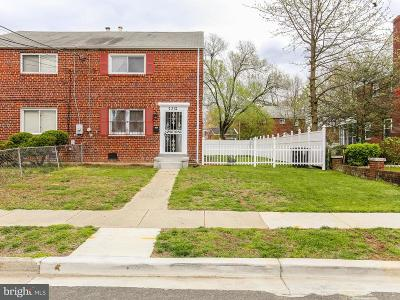 Suitland Single Family Home For Sale: 2312 Wyngate Road