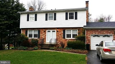 Frederick County Single Family Home For Sale: 8206 Ridgelea Court