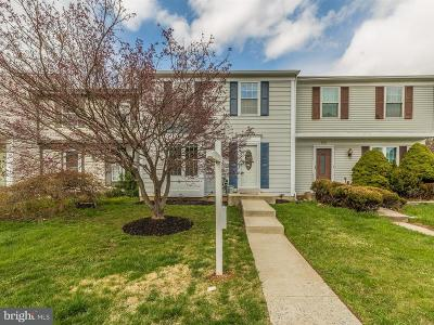 Gaithersburg Townhouse For Sale: 9203 Broadwater Drive