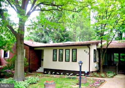 Vienna Single Family Home For Sale: 402 Upham Place NW