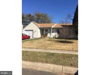 Willingboro NJ Single Family Home Under Contract: $95,500
