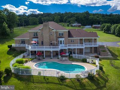 Frederick County Single Family Home For Sale: 10727 Easterday Road