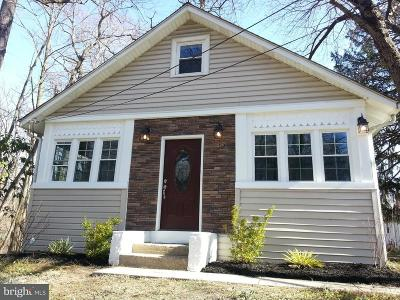 Moorestown Single Family Home Under Contract: 263 S Lenola Road