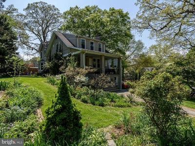 Chevy Chase Single Family Home For Sale: 160 Quincy Street