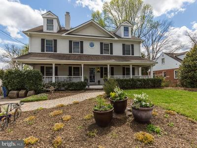Bethesda, Chevy Chase Single Family Home For Sale: 5822 Lone Oak Drive