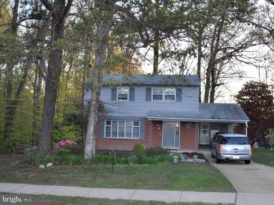 Springfield Single Family Home For Sale: 7015 Sydenstricker Road
