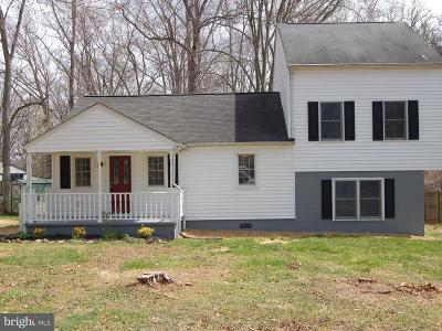 Manassas Single Family Home For Sale: 7699 Well Street
