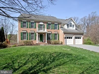 Bethesda, Chevy Chase Single Family Home For Sale: 8408 Old Seven Locks Road