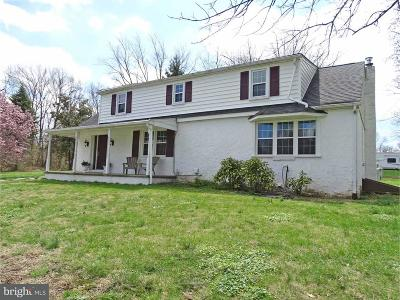 Bucks County Single Family Home For Sale: 2520 2nd Street Pike