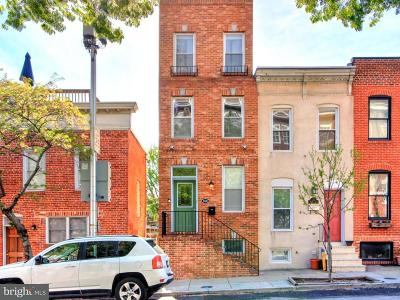 Baltimore Townhouse For Sale: 828 Highland Avenue S