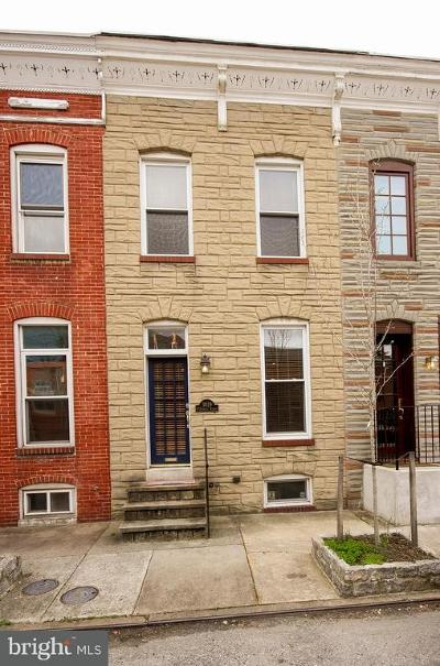 Baltimore Single Family Home For Sale: 3029 O'donnell Street