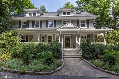 Chevy Chase Single Family Home For Sale: 7311 Brookville Road