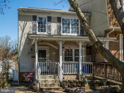 Germantown Townhouse For Sale: 19011 Grotto Lane