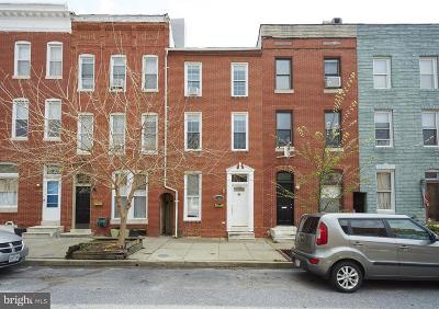 Baltimore Single Family Home For Sale: 115 Ann Street S