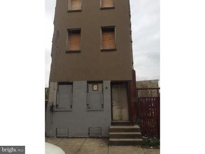 Philadelphia Single Family Home For Sale: 627 Diamond Street
