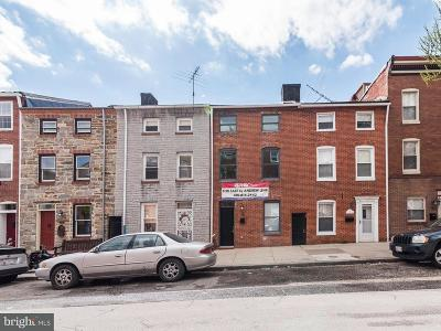 Baltimore Single Family Home For Sale: 116 Wolfe Street S