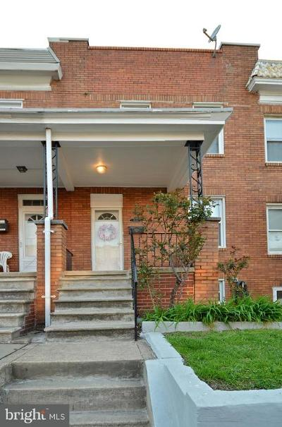 Baltimore Single Family Home For Sale: 632 Savage Street