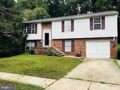 Upper Marlboro Single Family Home For Sale: 12706 Richland Place