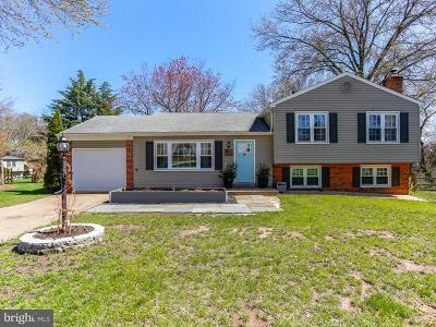 Burke Single Family Home Active Under Contract: 5307 Rymney Lane
