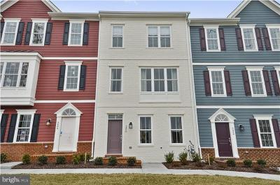 Frederick Townhouse For Sale: 9019 Templeton Drive