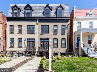Petworth Townhouse For Sale: 415 Randolph Street NW #1