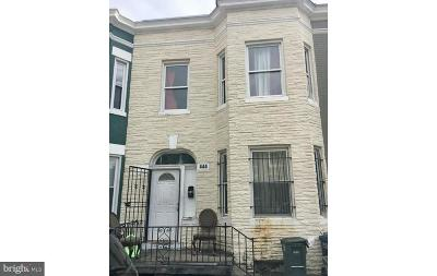 Washington Townhouse For Sale: 444 Lamont Street NW