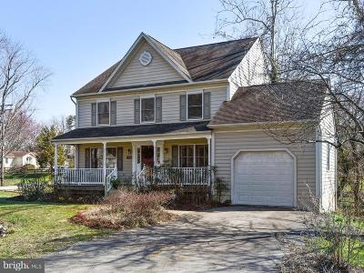 Annapolis Single Family Home For Sale: 600 Tayman Drive