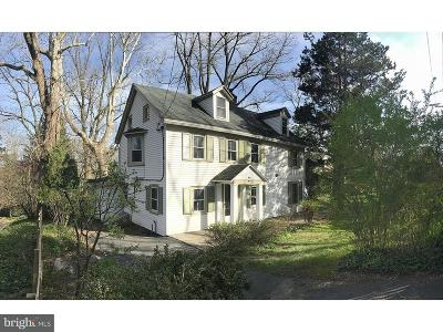 Conshohocken Single Family Home For Sale: 360 Kirk Lane