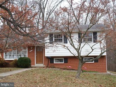 Silver Spring Single Family Home For Sale: 851 Loxford Terrace