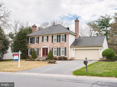 Montgomery Village Single Family Home For Sale: 20324 Highland Hall Drive