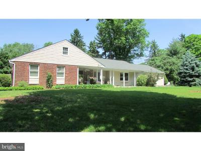 Bucks County Single Family Home For Sale: 524 N Shady Retreat Road