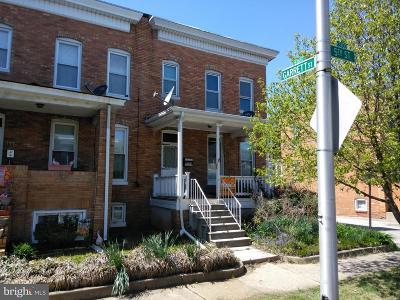 Baltimore MD Single Family Home For Sale: $10,000