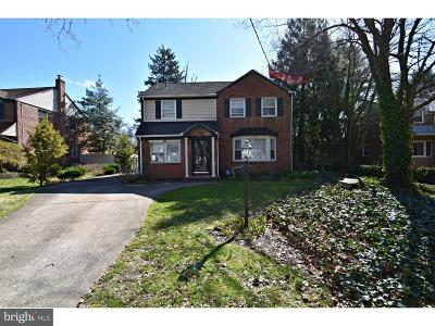 Cherry Hill Single Family Home Under Contract: 121 Lenape Road