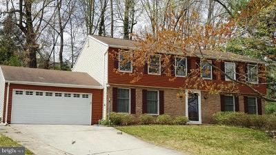 Burke, Springfield Single Family Home For Sale: 7700 Middle Valley Drive