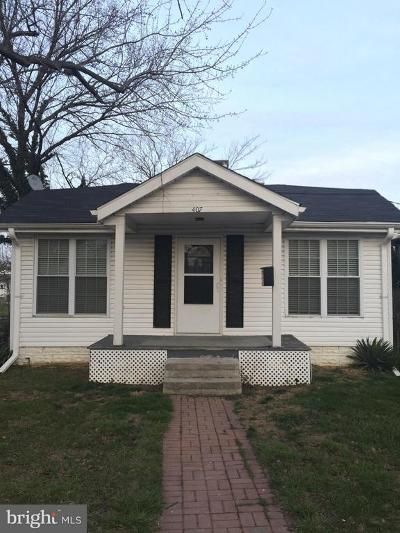 Baltimore Single Family Home For Sale: 407 Commonwealth Avenue