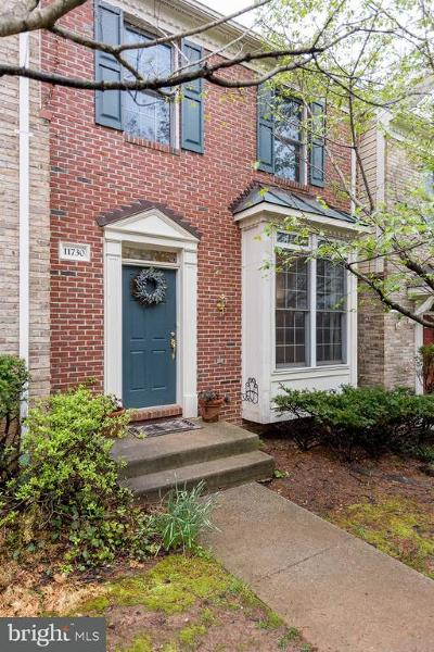 Penderbrook Townhouse For Sale: 11730 Valley Ridge Circle